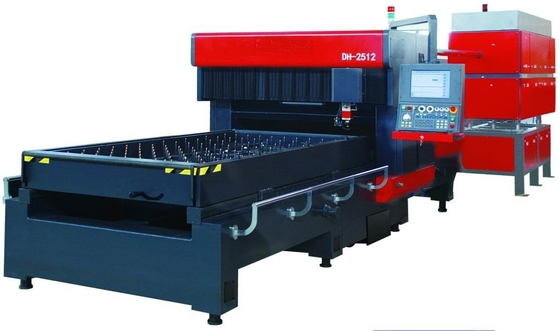 Laser cutting machine with 1000/1500/2200W Fast Flow Generator for 1.8M/min speed for Dieboard Making